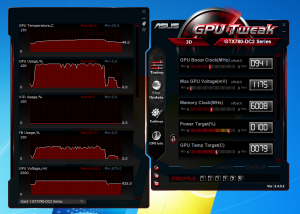 COD GHOSTS GAMEPLAY TEMPERATURES - ASUS GeForce GTX 780 DirectCU II