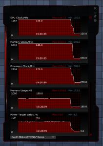 Load Performance & Temperatures STRIKER GTX 760 3