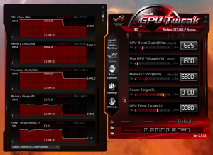 Overclock Settings and Performance For STRIKER GTX 760 4