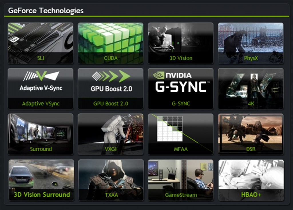 GeForce Technologies 2