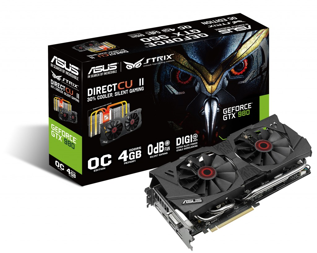 ASUS STRIX GTX 970 Featuring DirectCU II & Digi+VRM with SAP Power Components