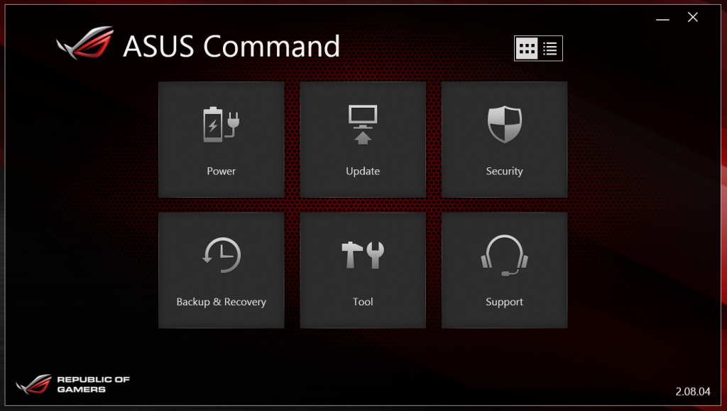 ASUS Command 1