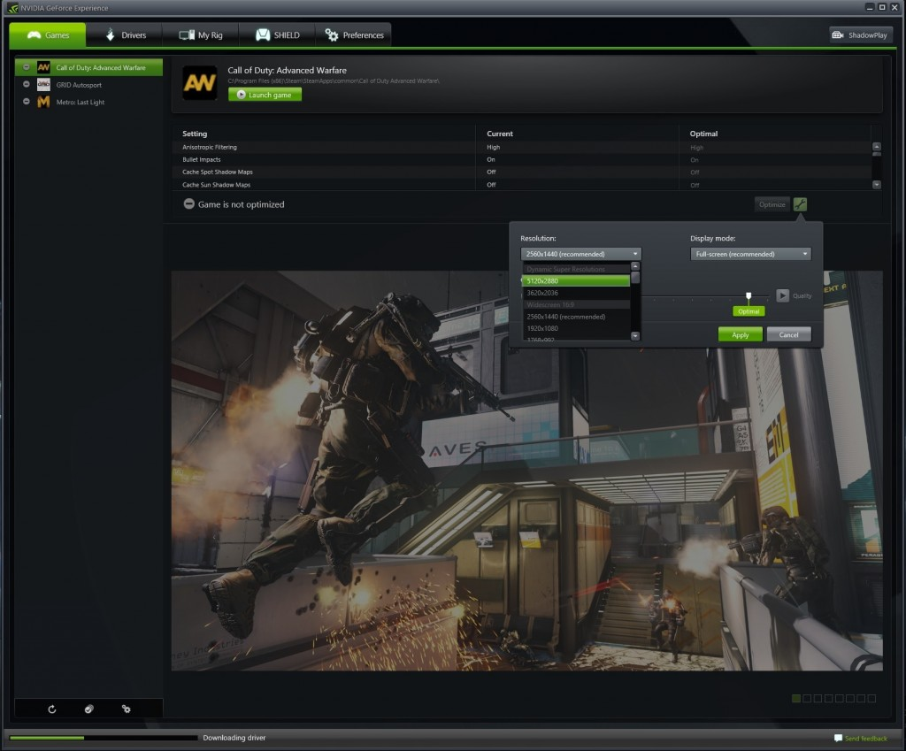 how to take screenshot geforce experience