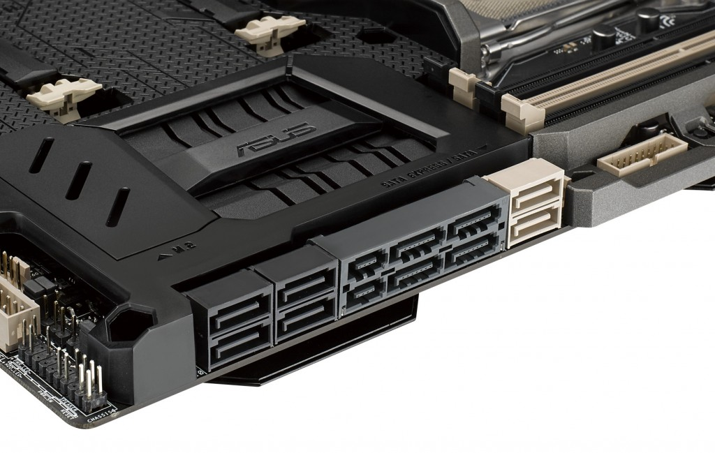 SABERTOOTH X99 SATA EXPRESS & Storage Connectivity