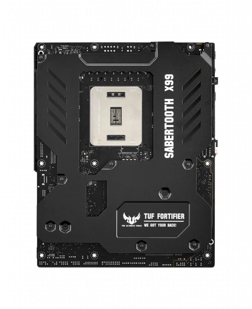 SABERTOOTH X99 back with TUF Fortifier