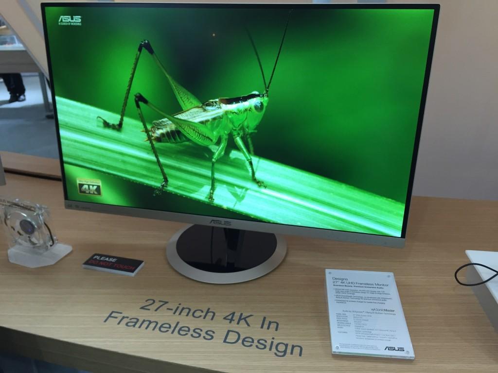 ASUS 27 inch frameless 4K monitor