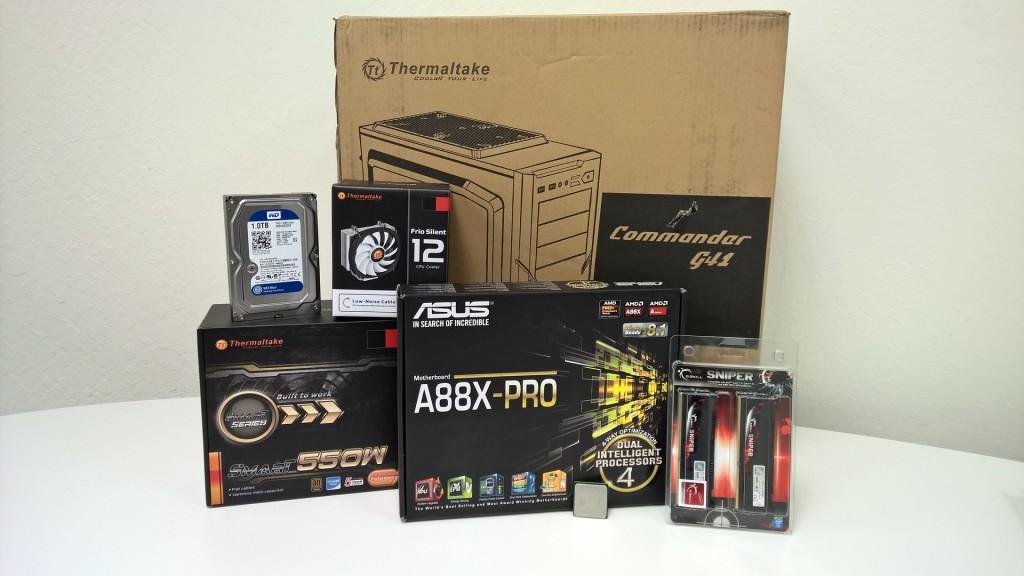 ASUS AMD A88X 7870K Build