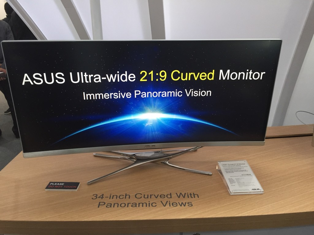 ASUS LX34 Ultrawide QHD IPS 219 Curved Monitor 2
