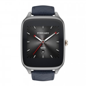 ASUS ZenWatch 2 (WI501Q)_Gunmetal + Leather strap resized