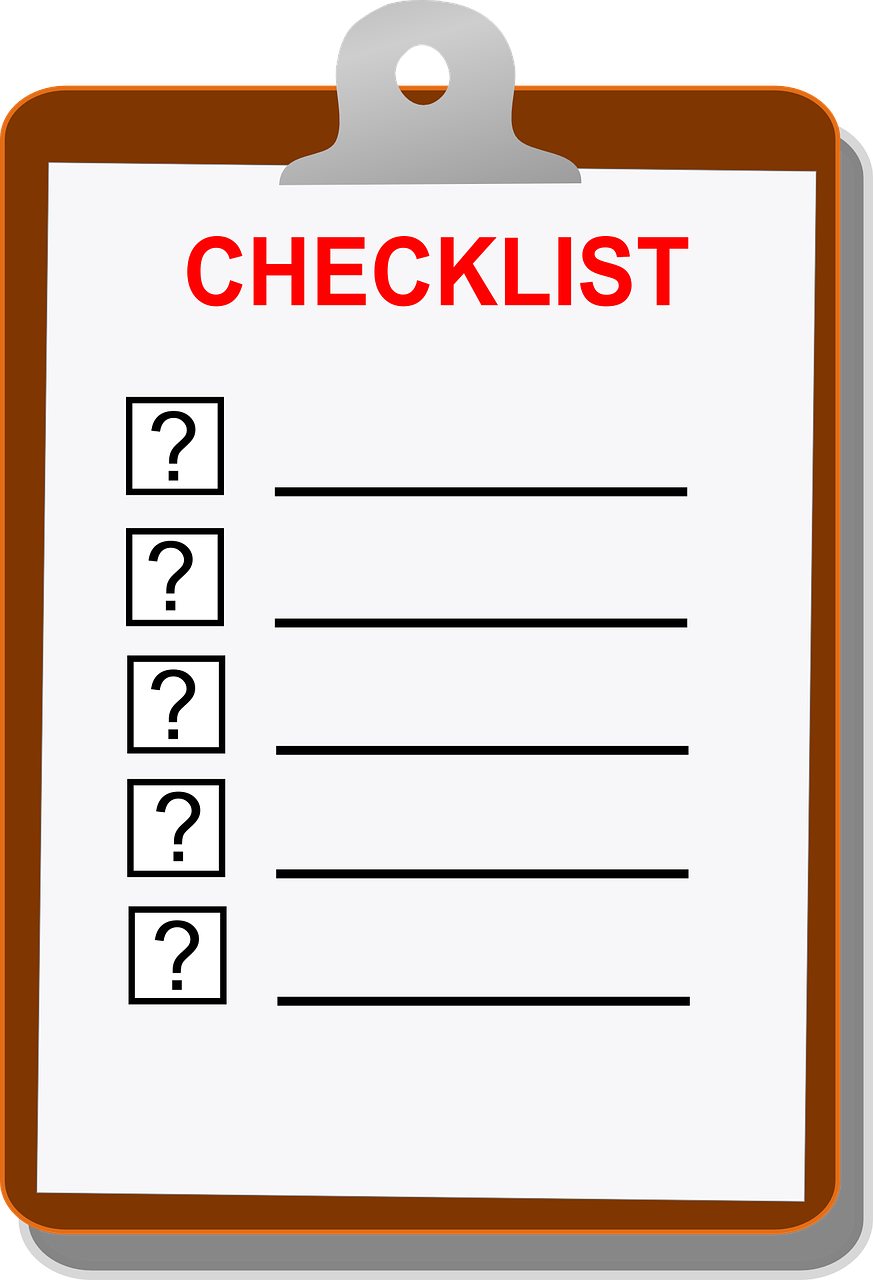 build a pc checklist edge up