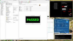 6700K 4.6GHz DDR4 3000MHz Z170-DELUXE Passmark Burn In Test Passed