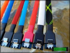 IceModz custom SATA cables 1