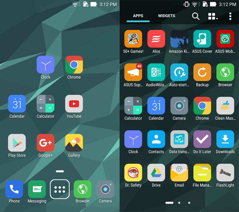 how to change icon pack in zenfone 3