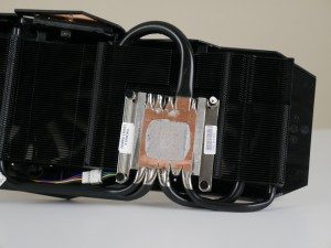 MATRIX GTX 980 Ti DirectCU II heatsink assembly