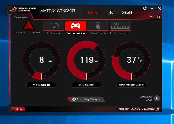 New GPU TWEAK II - Your Graphics Card Best Friend - Edge Up