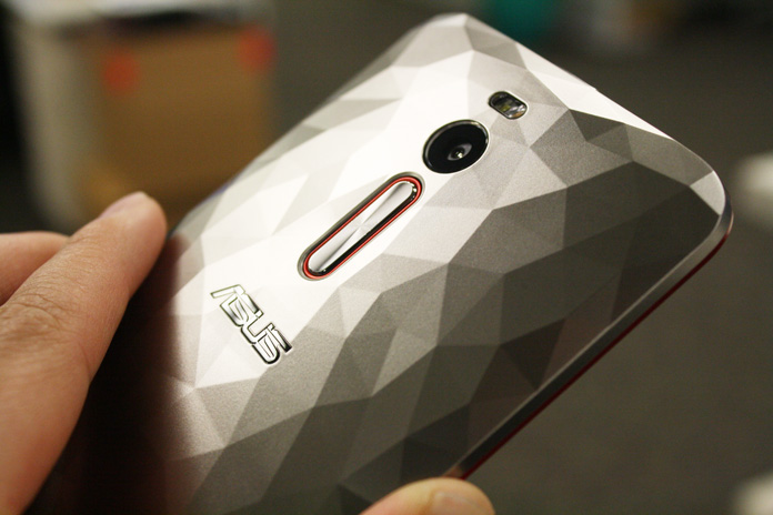ZenFone 2 Deluxe Special Edition - Backcover-silver