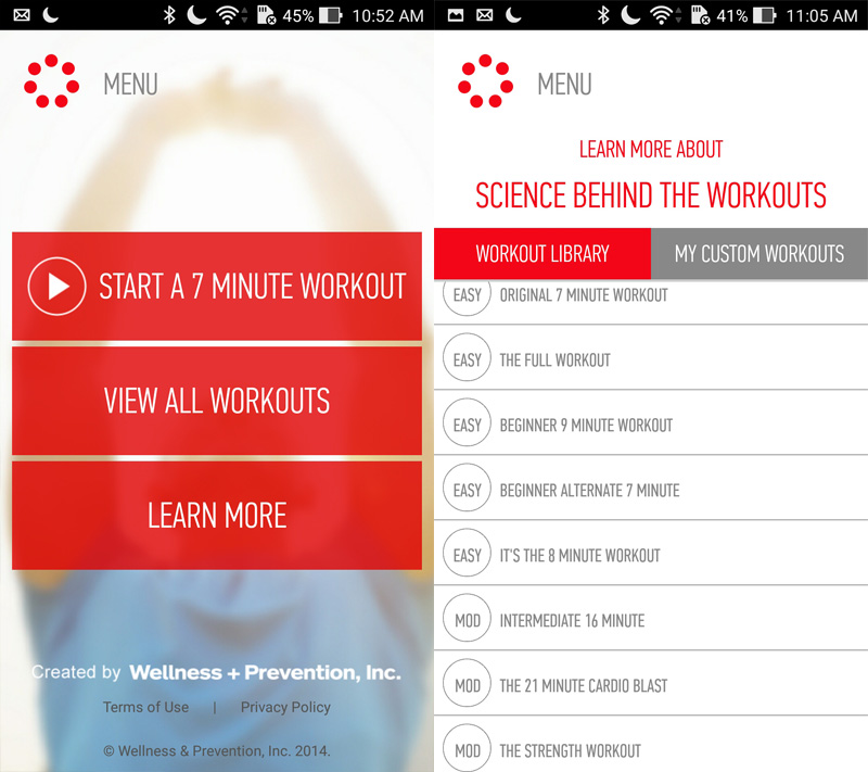 Workout with your ZenFone 2