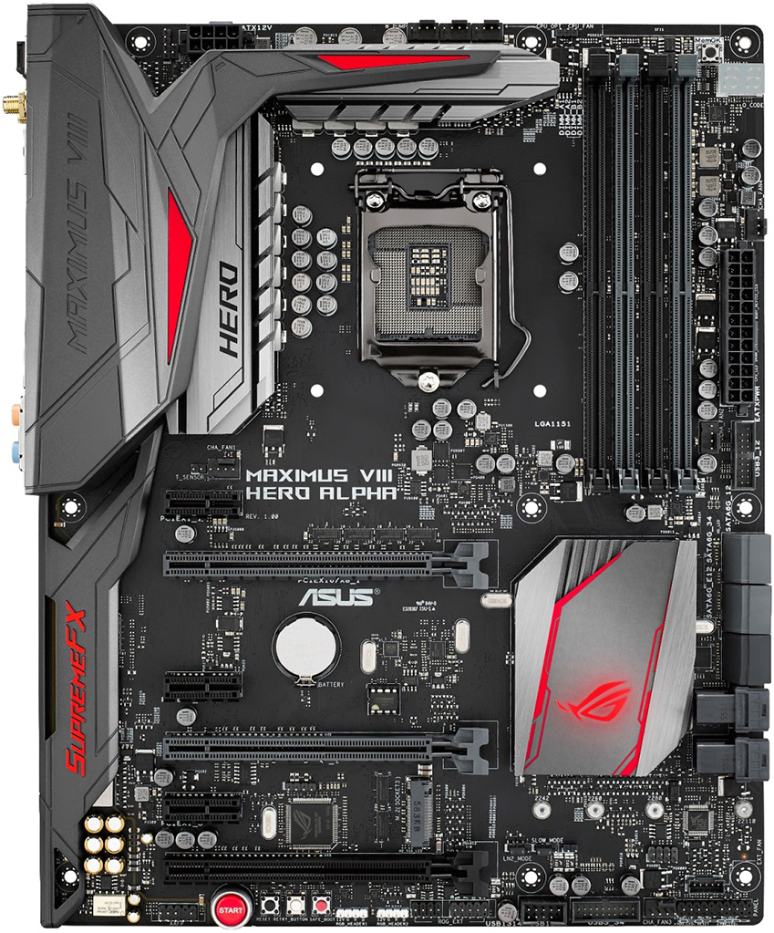 Rog S Maximus Viii Hero Alpha Sets The Stage For