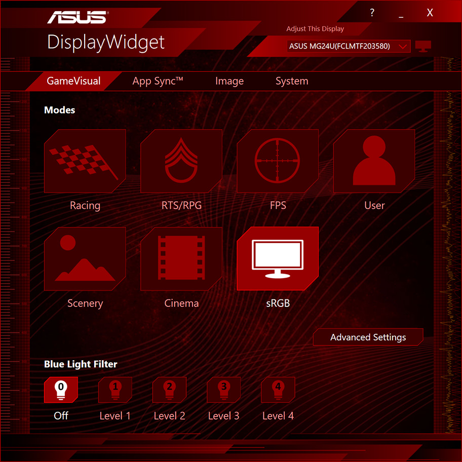 ASUS DisplayWidget simplifies monitor tweaking—with an automated