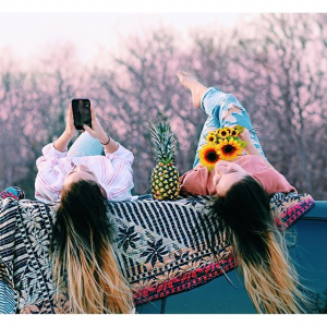 Girls Colorful Phone in shot