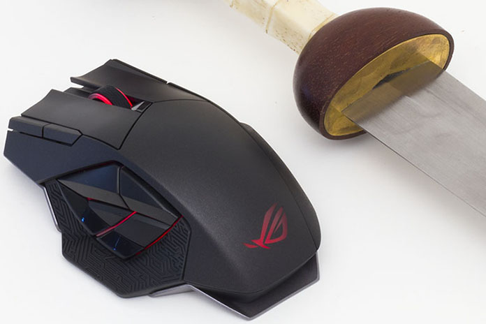 Hands-on with the ROG Spatha wireless gaming mouse - Edge Up