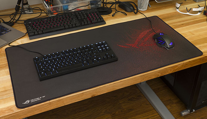 The Extra-large ROG Sheath Gaming Mat Made Me Rethink My