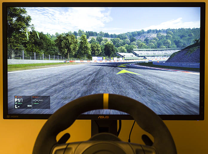 The ASUS MG248Q gaming monitor turbocharges Adaptive-Sync to