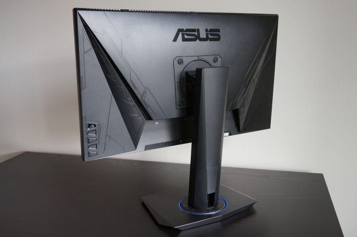The ASUS VG245H FreeSync monitor has dual HDMI inputs for PC