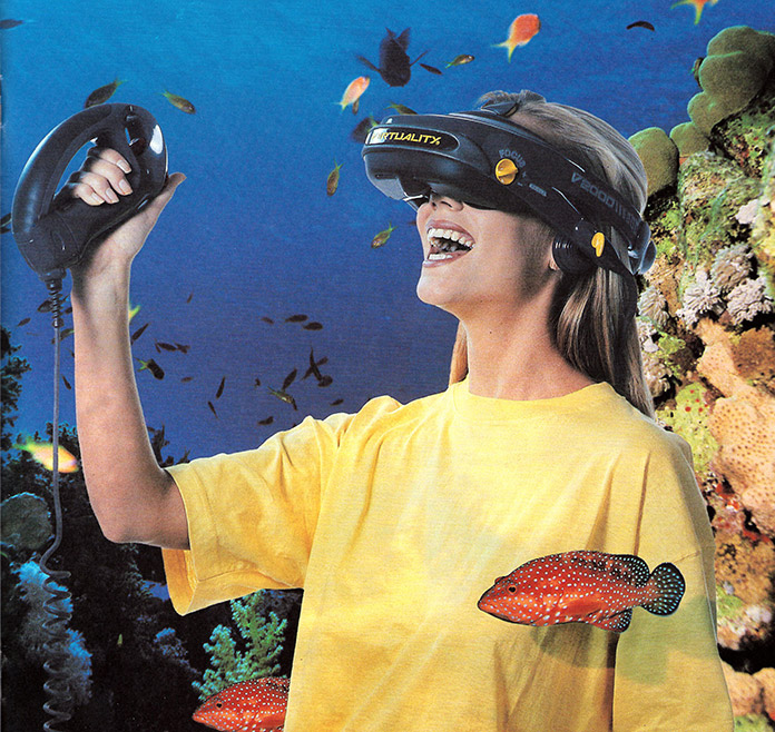 Virtuality image credit: Dr. Jonathan D. Waldern