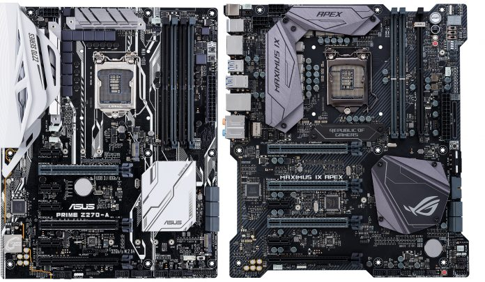 Which ASUS Z270 motherboard should I buy? - Edge Up