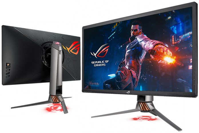 The ROG Swift PG27UQ gaming monitor pushes 4K to 144Hz with