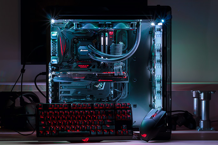 The Rog Maximus Ix Code Drives A Versatile Enthusiast Pc