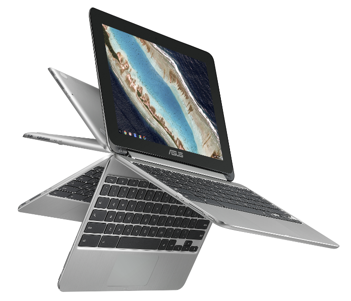 """c2f9471d424 The 10.1"""" touchscreen display sits inside a 10.4"""" chassis, which creates  enough real estate for a comfortably-sized keyboard while keeping things  compact ..."""