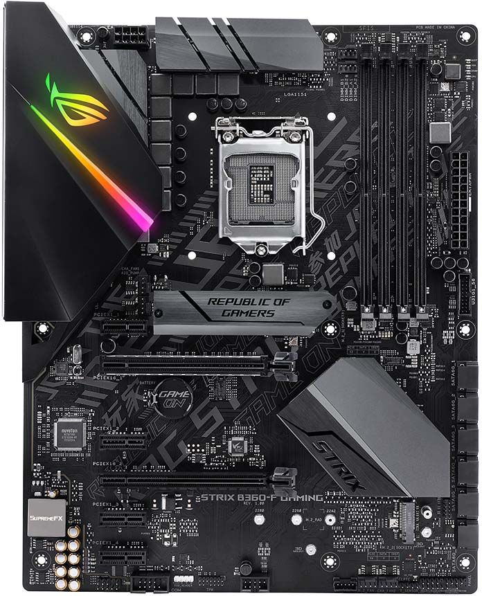 Introducing ASUS H370 and B360 motherboards from ROG, TUF