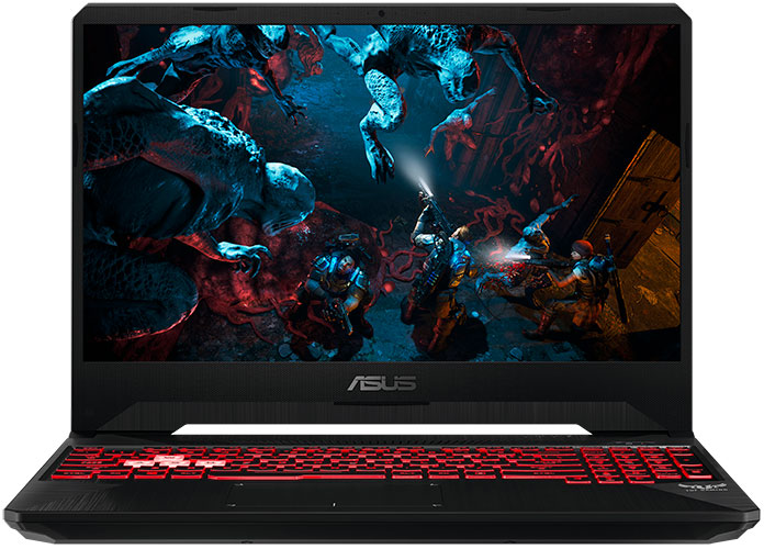 Get the essentials in the affordable TUF Gaming FX505 and