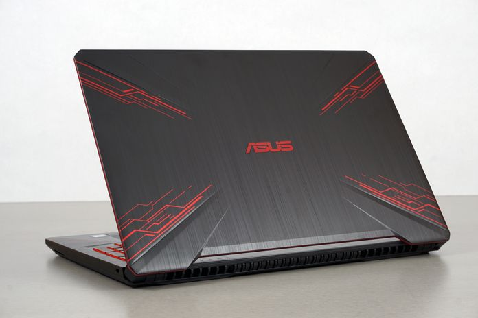 The TUF Gaming FX504 laptop does mobile gaming on a budget