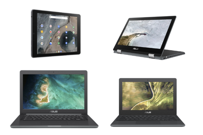 The newest ASUS Chromebooks are rugged and ready to rule the