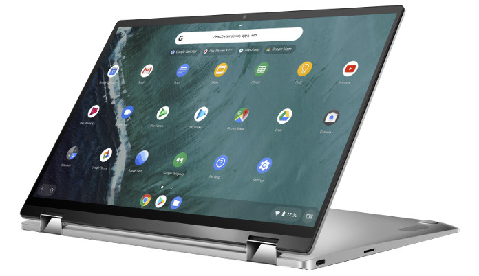 The Chromebook C434 is a professional 2-in-1 laptop made for
